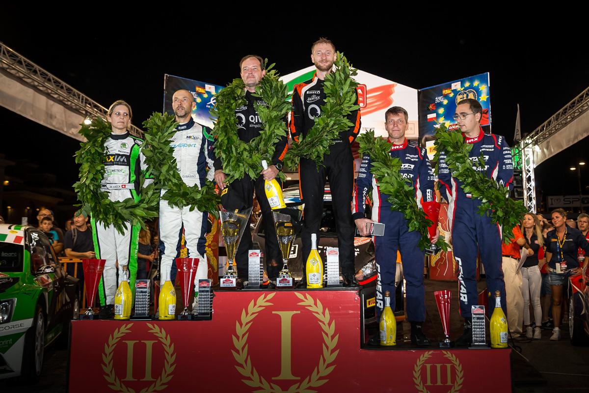 Лукьянюк и Арнаутов - победители пятого этапа ERC