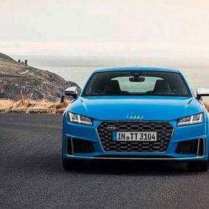 Обновленное купе Audi TTS рассекретили до премьеры