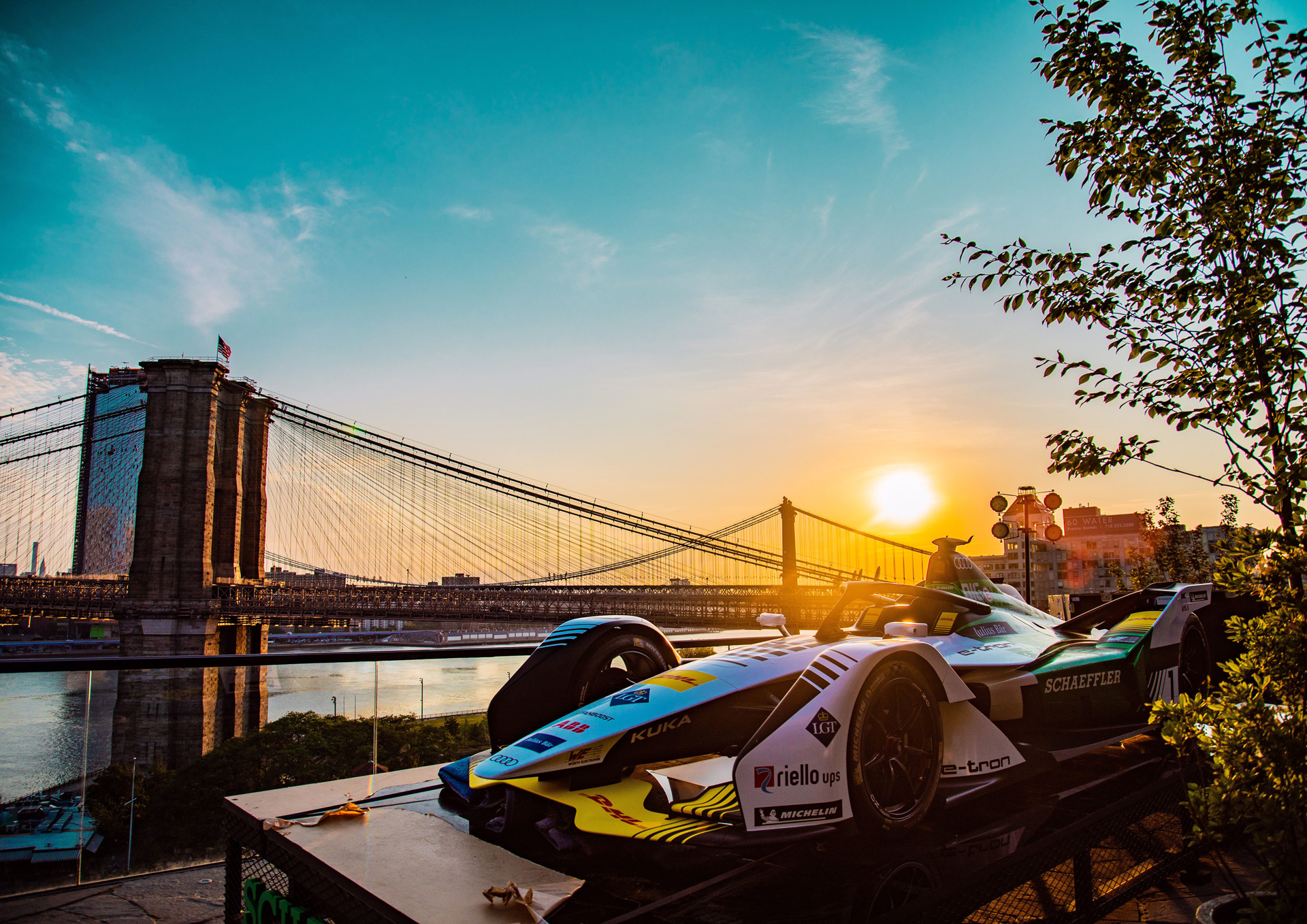 Audi Sport ABT Schaeffler стала чемпионом Formula Е