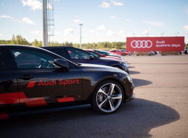 Крупнейший проект Audi quattro days стартовал в России