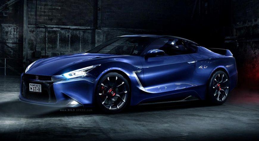 Nissan GT-R концепт