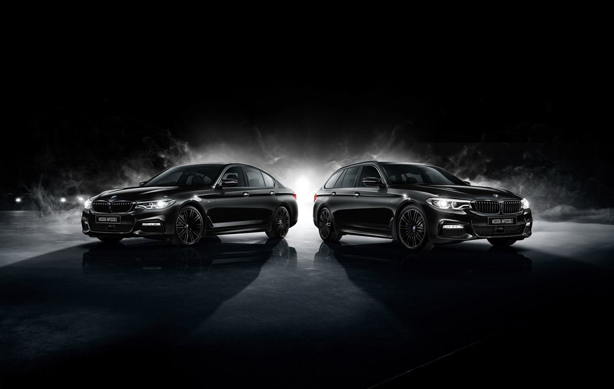 Специальный ограниченный выпуск BMW M5 для Японии