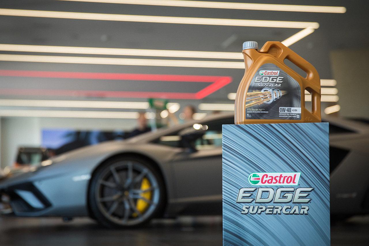 Castrol представляет новую линейку моторных масел EDGE SUPERCAR