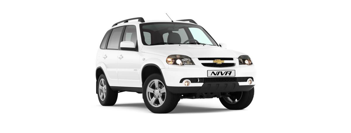 Внедорожник Chevrolet NIVA в новом цветовом исполнении