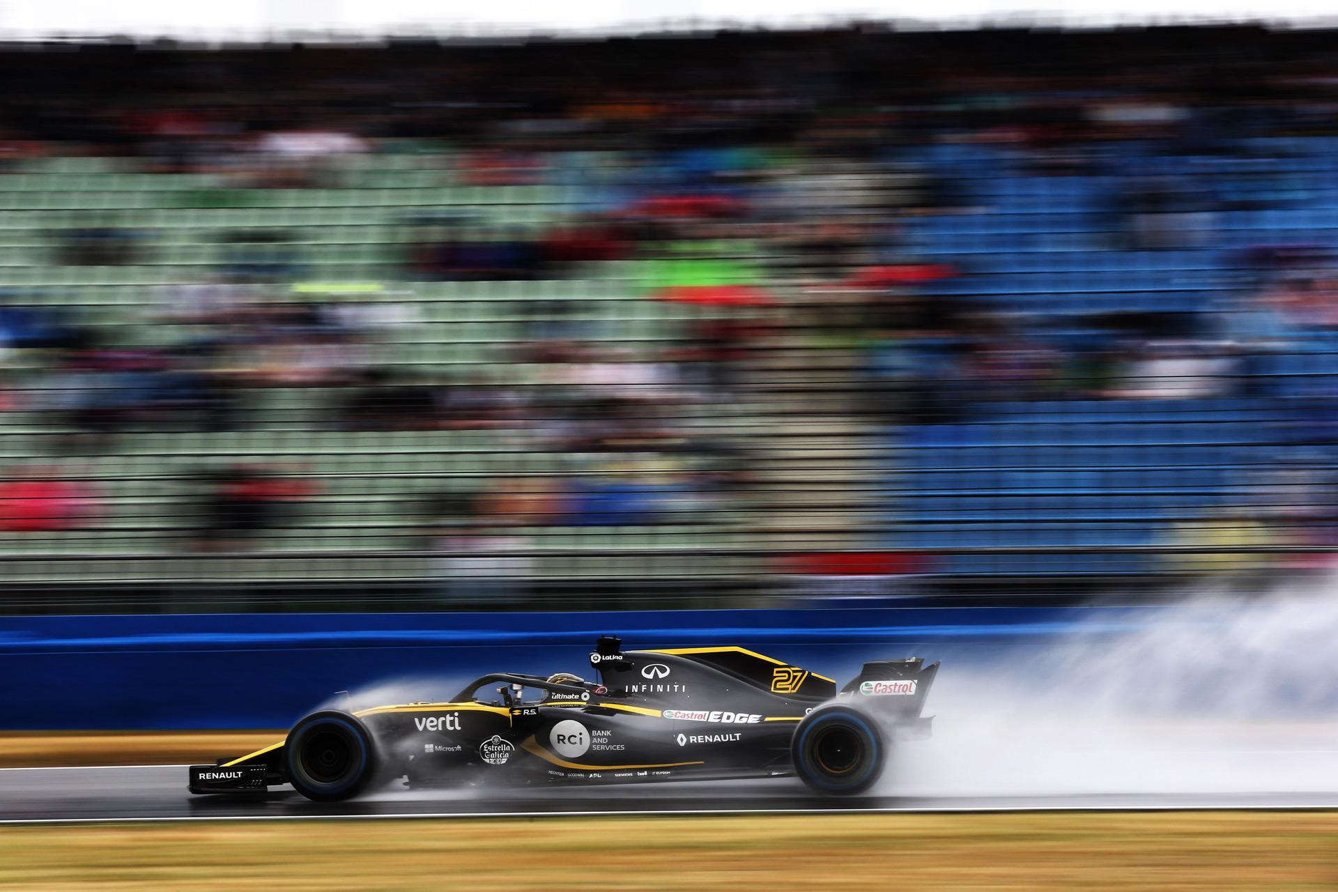 Renault Sport Formula One Team: пятое место при сложной погоде