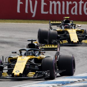 На Гран-при Emirates Grosser Preis von Deutschland пилот Renault Sport Formula Team финишировал пятым