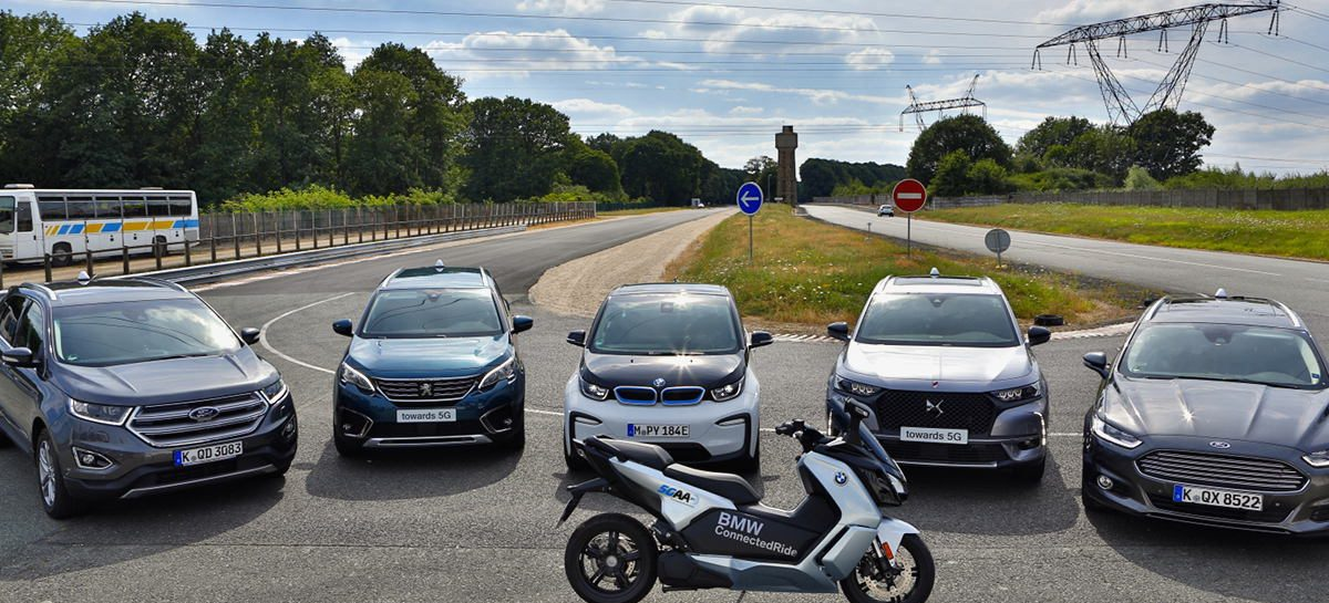 Ford, BMW, PSA и 5GAA совместно с Qualcomm и Savari объявили о первой в Европе демонстрации технологии C-V2Х