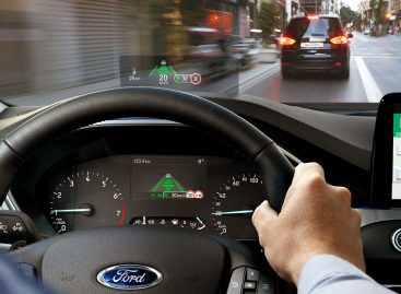 Новый проекционный дисплей Ford