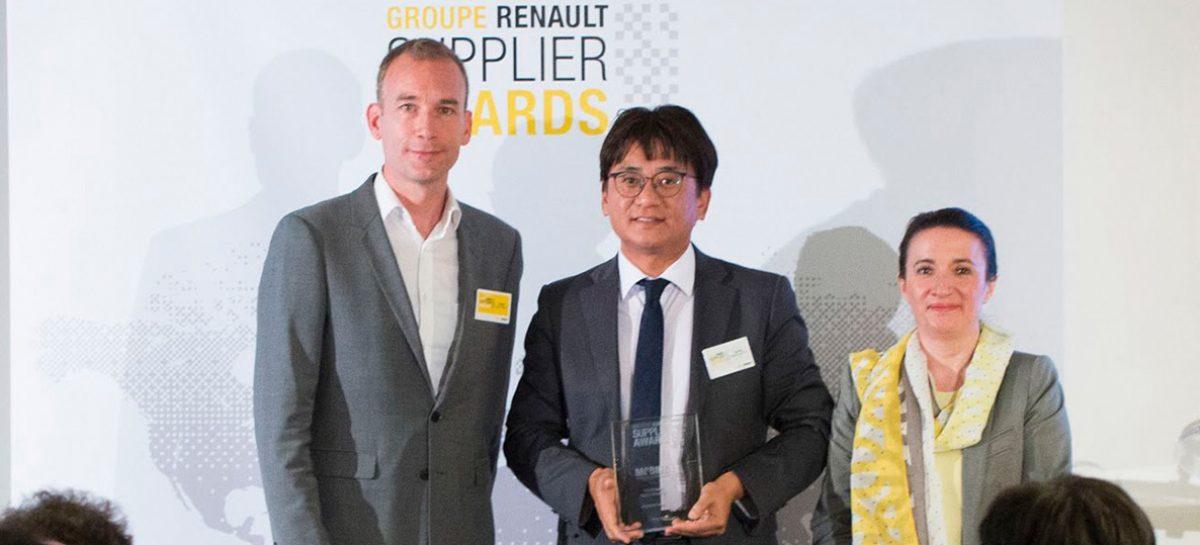 Компания Hankook Tire была отмечена группой Renault Gruppe в номинации «Экологичные закупки»