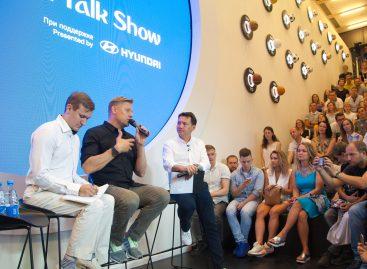 Ток-шоу выдающегося футболиста Петера Шмейхеля и Георгия Черданцева состоялось в Hyundai Motorstudio