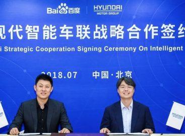 Сотрудничество Hyundai и Baidu в развитии технологий подключенного автомобиля