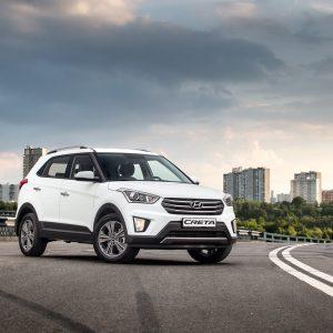 Hyundai Creta в январе стала лидером на рынке Дальнего Востока