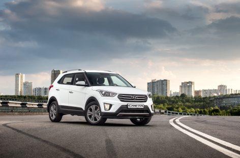 В ходе краш-теста Hyundai Creta набрал максимальные 4 звезды