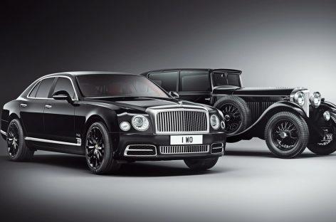 В новых седанах Bentley Mulsanne появится деталь 1930 года