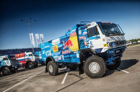 Новый спортивный грузовик команды «КАМАЗ-мастер»