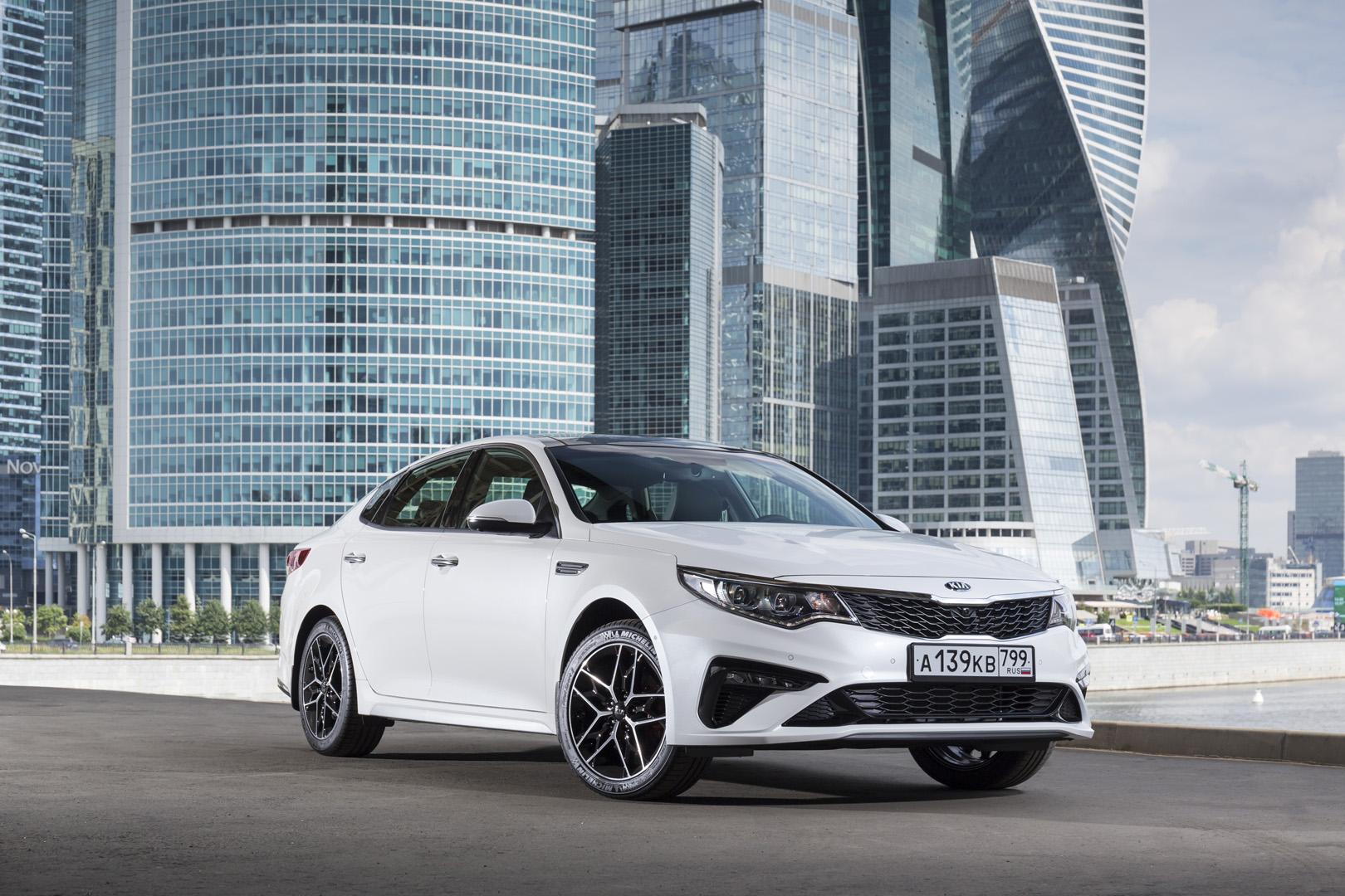 Продажи обновленного седана бизнеса-класса Kia Optima стартуют в России в августе 2018 года