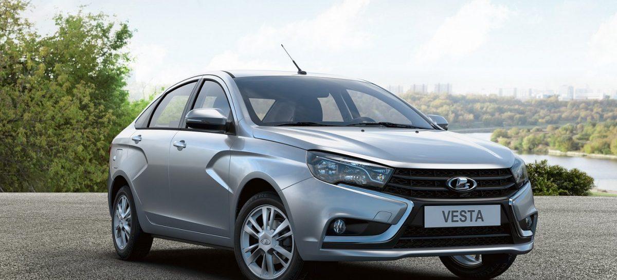 LADA Vesta седан получил пакет опций Prestige