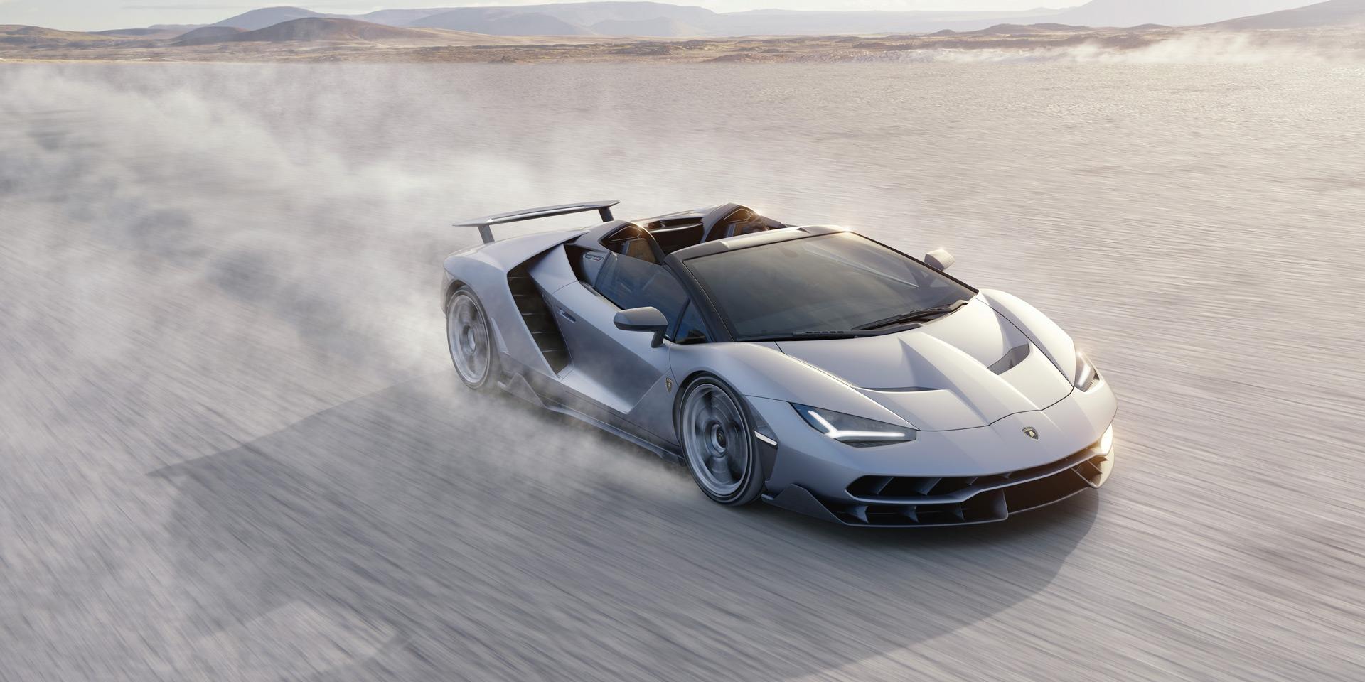 SSUV Lamborghini Urus, Centenario Roadster и другие суперкары Lamborghini на Фестивале скорости 2018 в Гудвуде