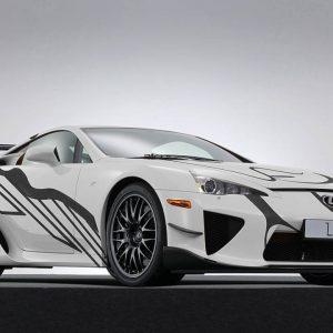 """Арт-кар LFA ознаменует первую для Lexus гонку """"24 Hours of Spa"""""""
