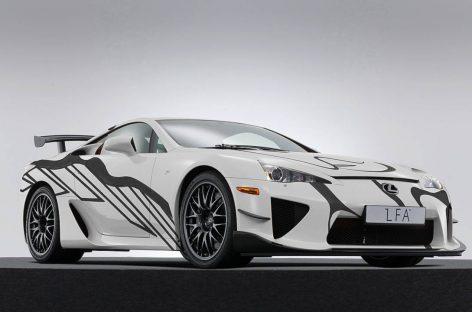 Арт-кар LFA ознаменует первую для Lexus гонку «24 Hours of Spa»