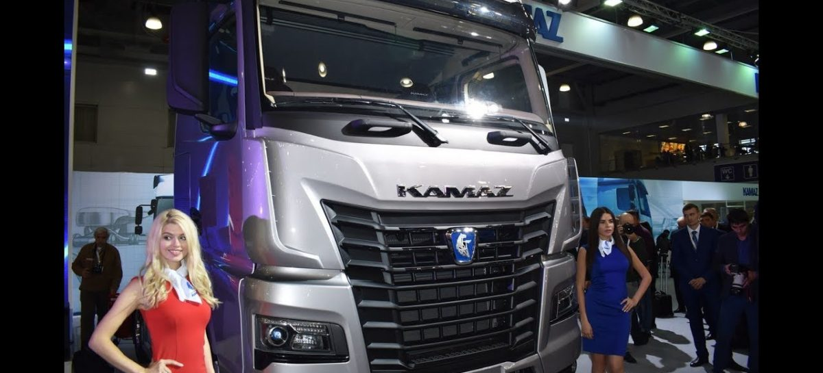 Опубликованы первые фото «КамАЗ» с кабиной K5 предсерийного образца