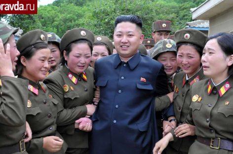 Ким Чен Ын приехал в воинскую часть на Lada Priora
