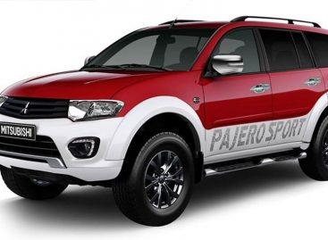 Компания Mitsubishi представила обновленный внедорожник  Mitsubishi Pajero Sport
