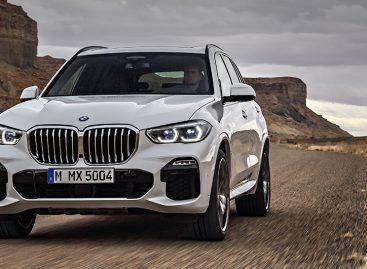 BMW Group Россия объявляет цены на новый BMW X5