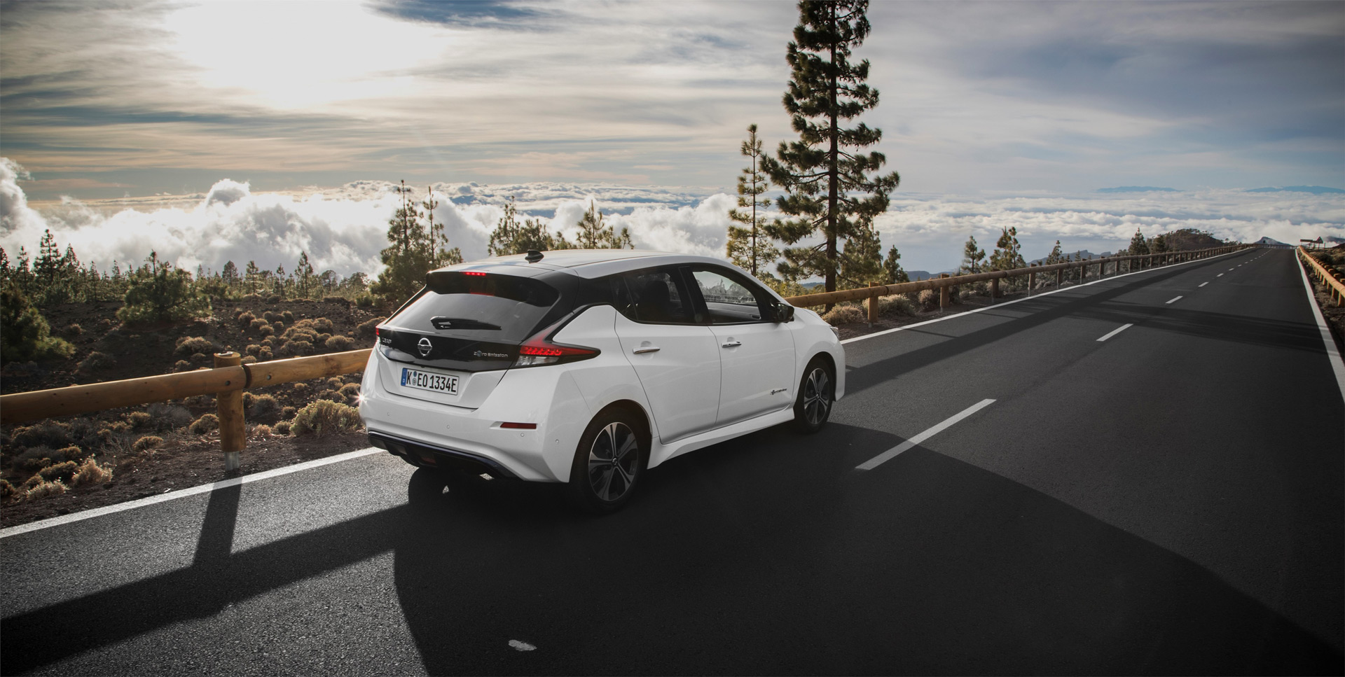 Nissan Leaf занимает первое место по продажам среди электромобилей в Европе