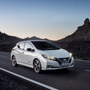 Nissan Leaf лидер по продажам электромобилей в Европе