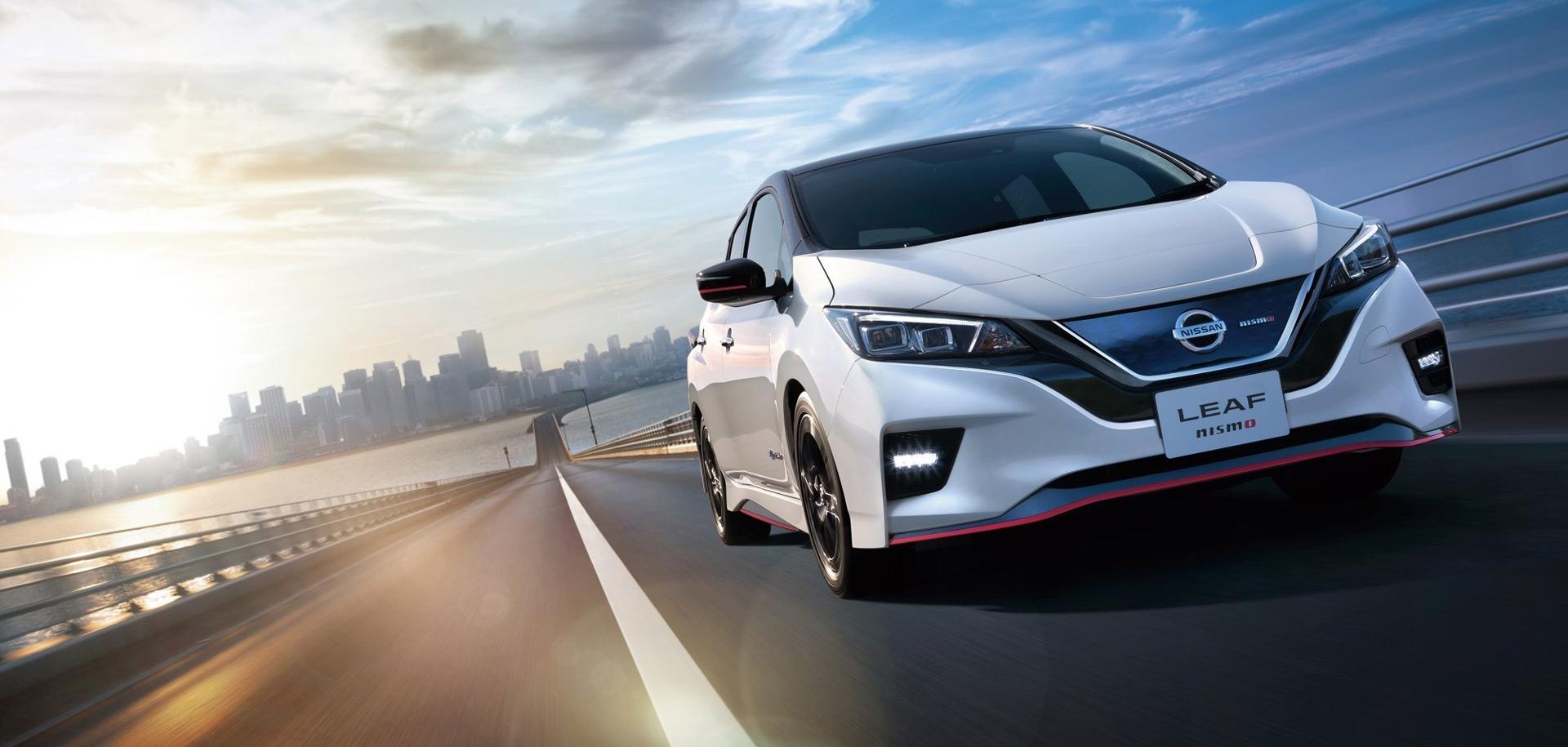 Nissan Leaf NISMO готов к мировому дебюту