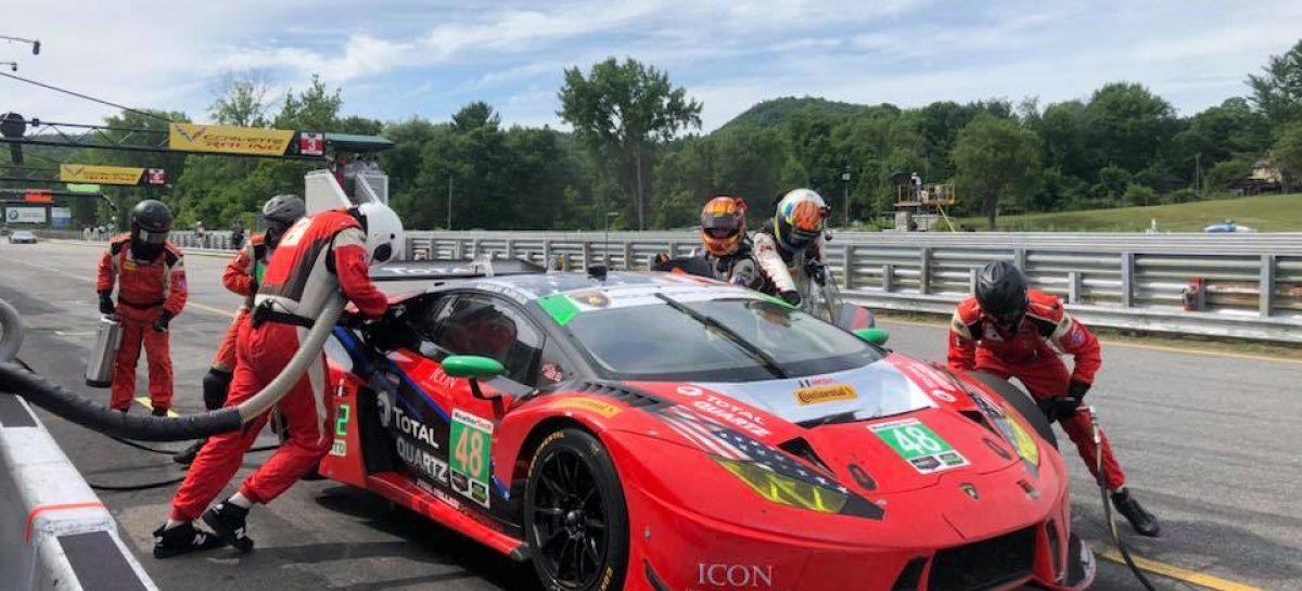 Очередная победа Lamborghini и лидерство в IMSA