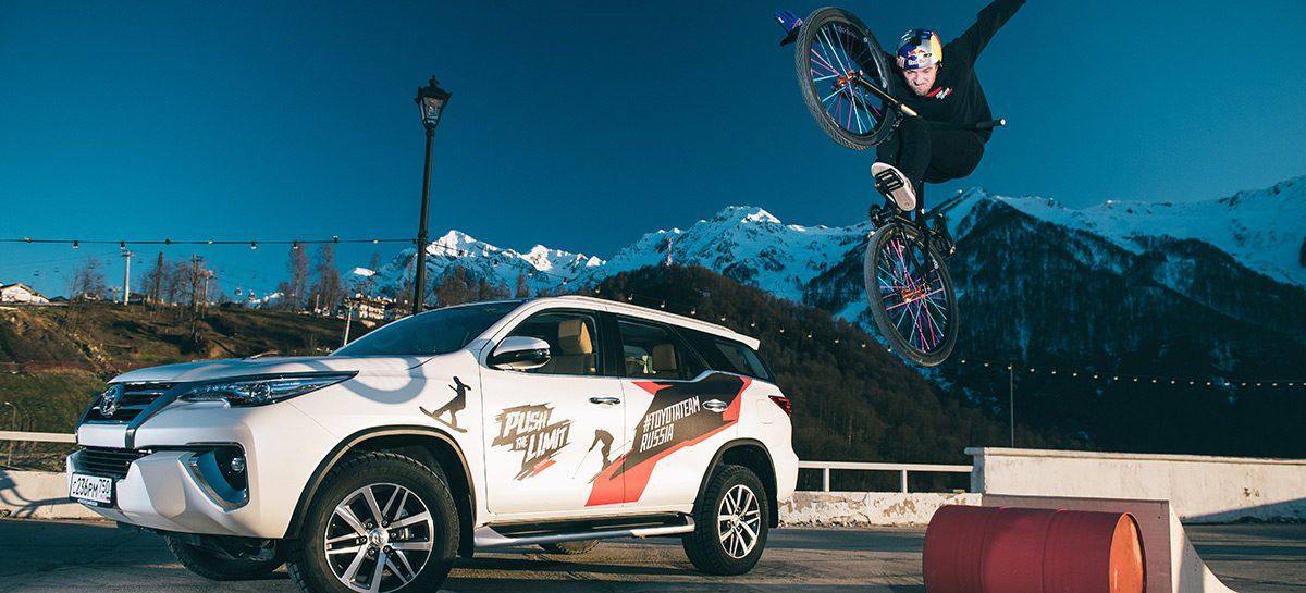 Паша Алехин прорвался в тройку лидеров Toyota Universal Street Games в направлении «Спорт»