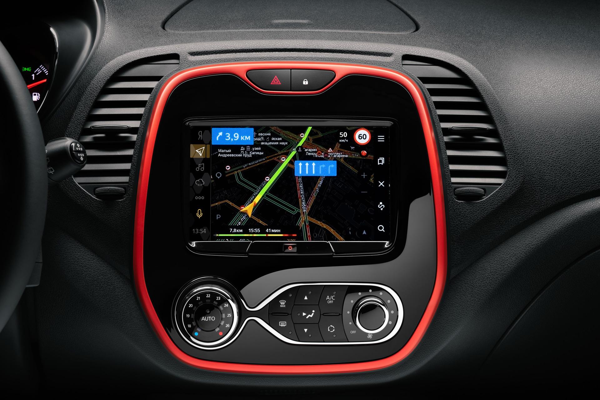 Renault Россия представляет Kaptur PLAY с мультимедийной системой на платформе Яндекс.Авто