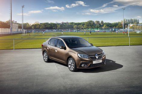 Компания Renault Россия представляет обновление седана Logan и хетчбэка Sandero