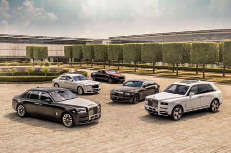 Rolls-Royce Motor Cars: мировые продажи выросли на 13 процентов