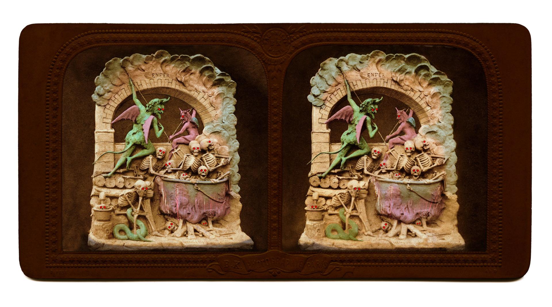 Различные авторы, Дьяблерии (Selection of Diableries), c. 1860, Коллекция доктора Брайана Май,(Dr. Brian May)