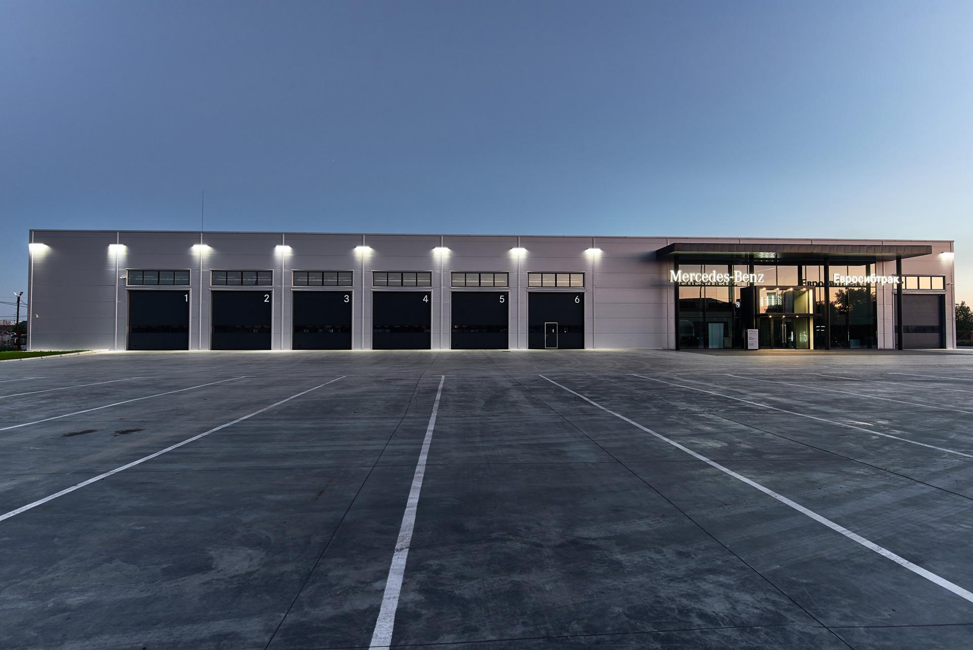 «Евросибтрак» открывает новую сервисную станцию по обслуживанию малотоннажной техники Mercedes-Benz в Омске