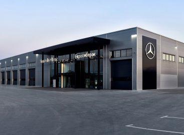 Новая сервисная станция от «Евросибтрак» для малотоннажных автомобилей Mercedes-Benz в Омске