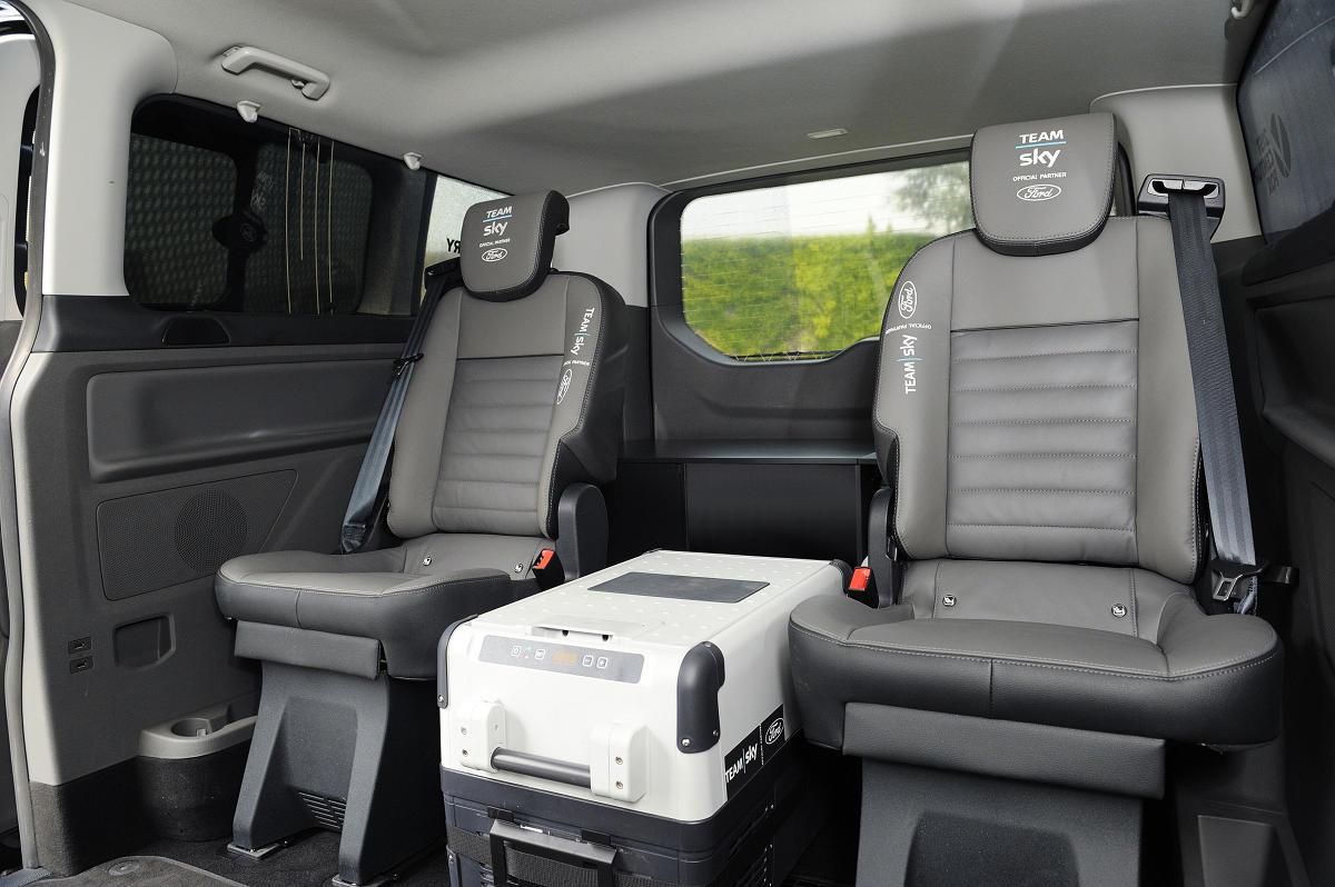 Специальная версия Ford Tourneo Custom Podium поможет победителям Тур де Франс восстановить силы