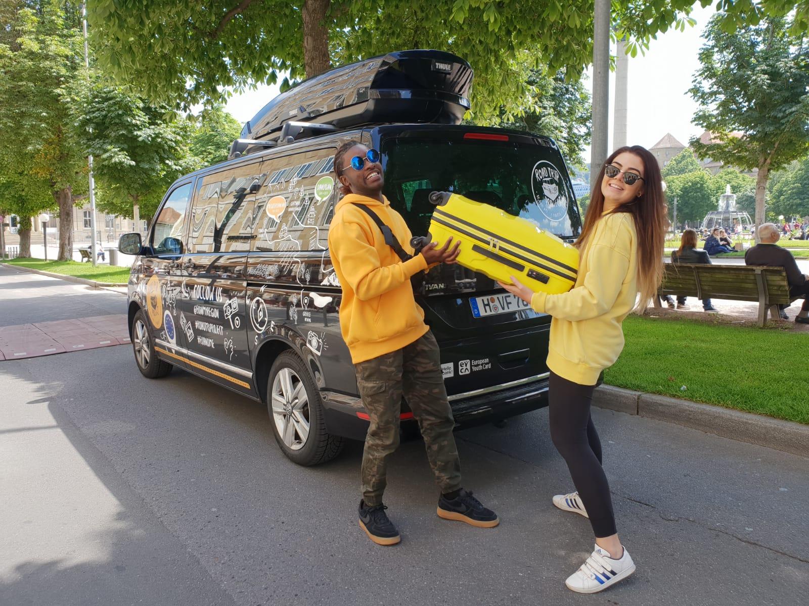Стартует третий этап европейского проекта — путешествие на Multivan в Румынию