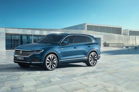 Новый Touareg с проекционным дисплеем от Volkswagen