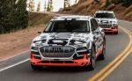 Электрический кроссовер Audi E-Tron вывели на первый тест-драйв