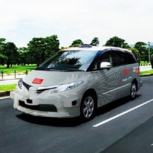 В Токио проводят эксперимент с использованием беспилотного такси
