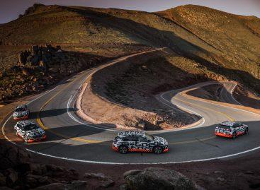 Audi e-tron: испытание системы рекуперации – более 400 км на одном заряде
