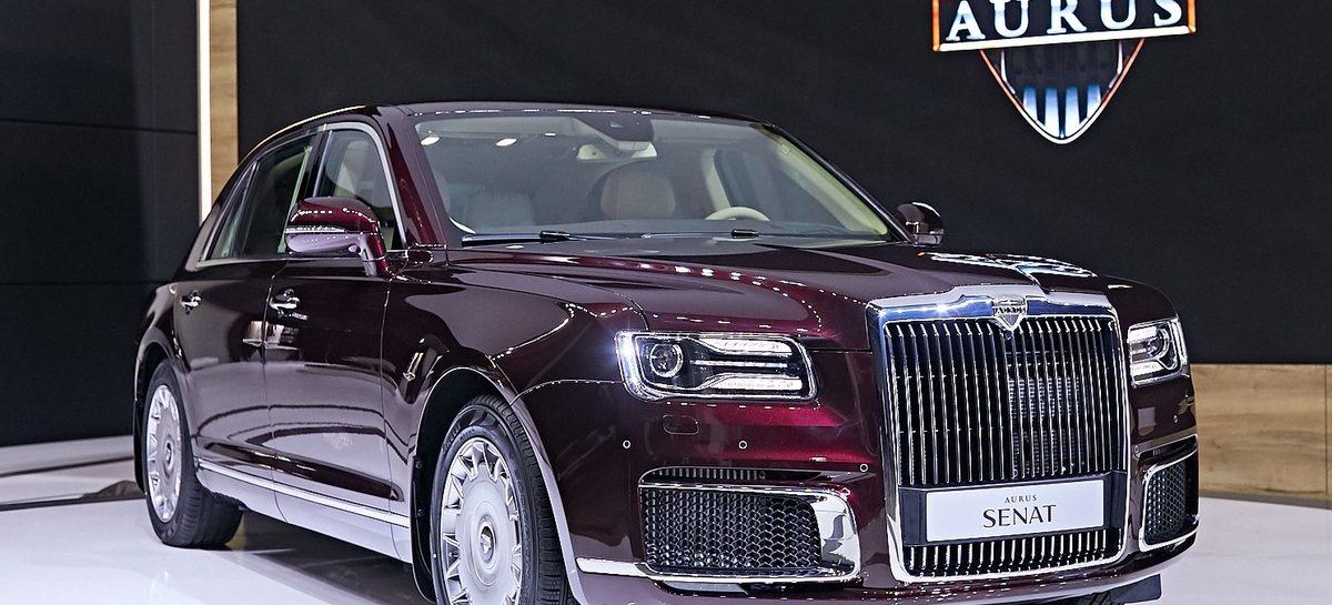 Мировая премьера автомобилей Aurus