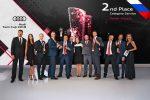 Блестящие результаты команды Audi Россия на чемпионате мира по сервису и технике Audi Twin Cup