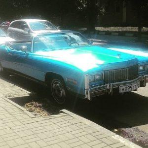 Редкий Cadillac Eldorado заметили на дороге в Воронеже