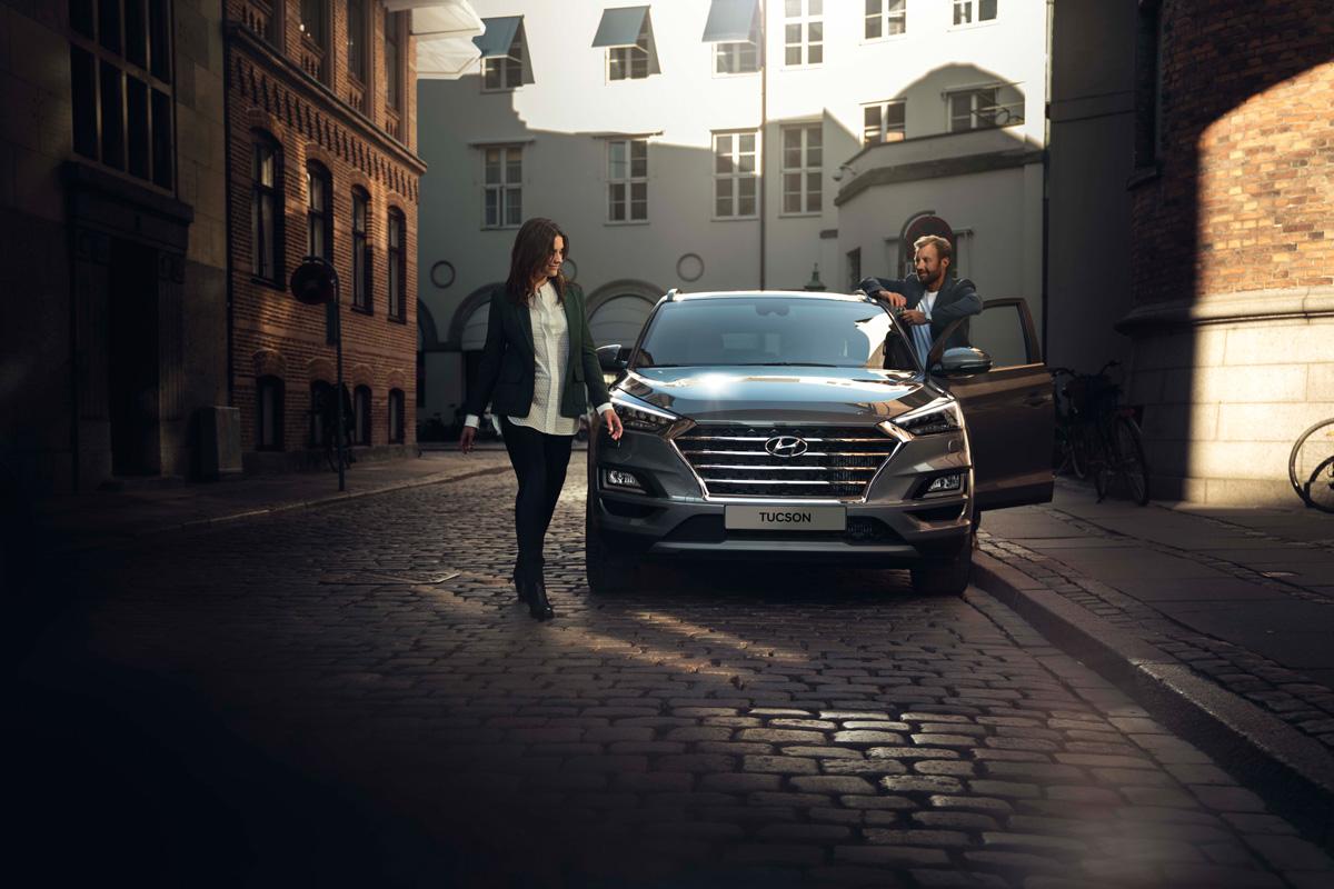 Hyundai Tucson пришел в Росиию