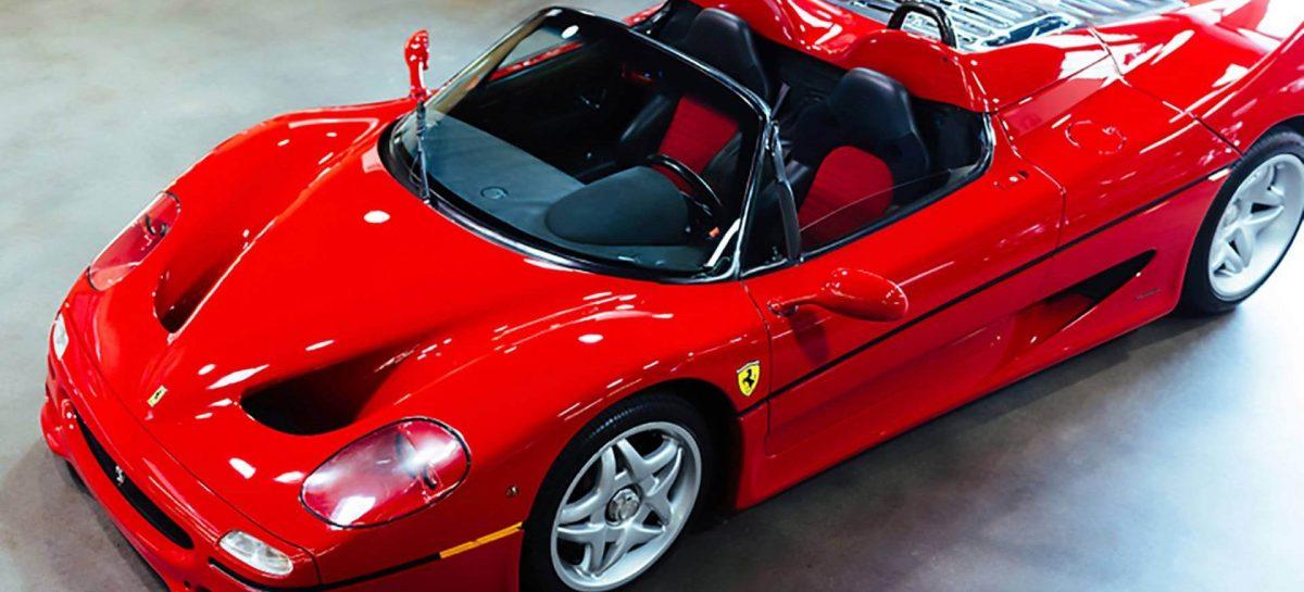 Первый экземпляр спорткара Ferrari F50 выставили на продажу